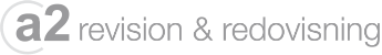 A2 Revision & Redovisning AB Logotyp